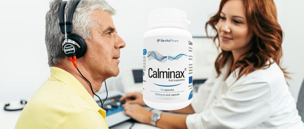 Calminax для лечения слуха
