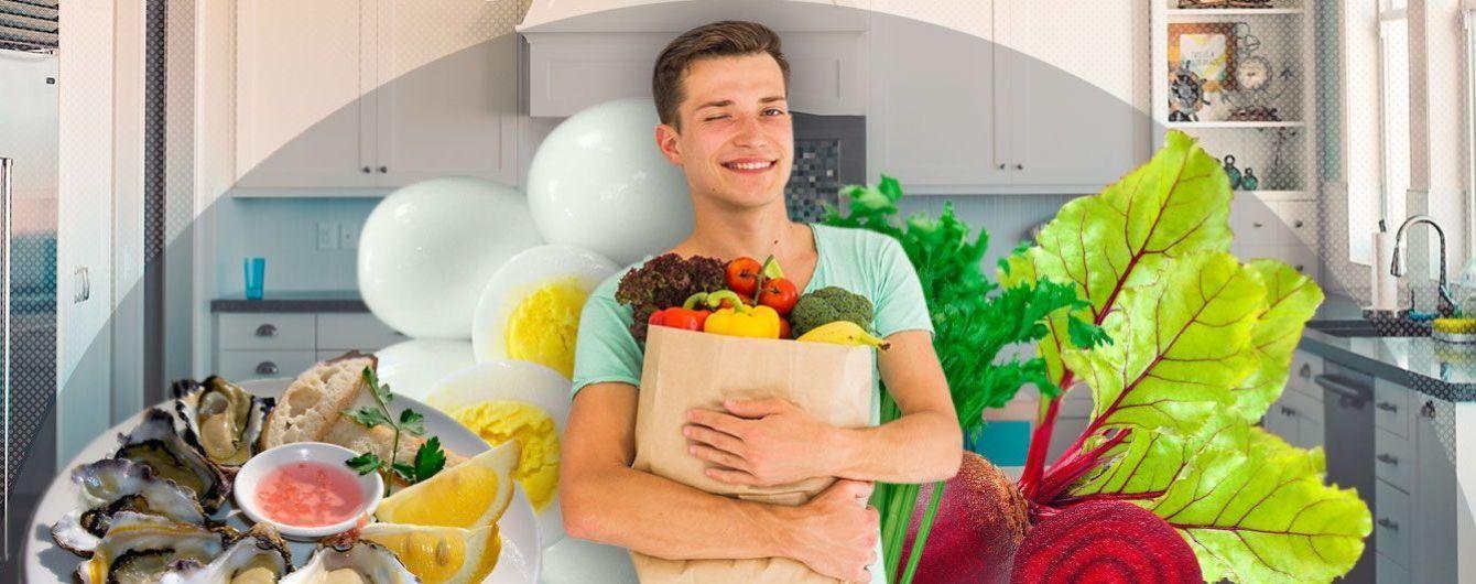 Несколько важных продуктов для мужского здоровья